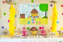 Lily's 2nd birthday / Ideas and inspiration for Lily's 2nd birthday - Hey Duggee theme
