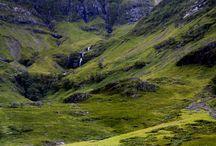 Schotland / Plaatsen en wandelen