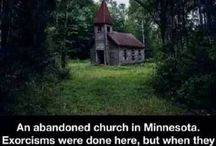 creepy places