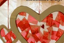 Kunst og håndverk - Valentines Day