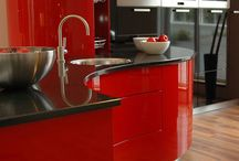 #SimplySassy / Welcome to my Dream Red & Black Kitchen! / by Simply Sassy Media
