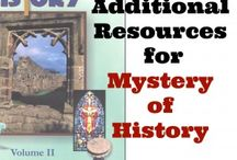 """Mystery of History Vol. 2: Early Church and the Middle Ages / """"The Mystery of History Volume II (AD 30 - 1456) picks up where the story of Volume I leaves off  - at the death and resurrection of Jesus Christ.  In the first lesson I address Acts 1:8 with the promise of the Father to send the Holy Spirit.  It is called the Day of Pentecost."""" from MOH website"""