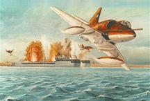 aviacion guerra de malvinas /    guerra de malvinas