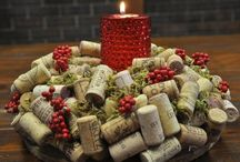 Holiday Ideas / Items made of cork to help decorate your home for the holidays.