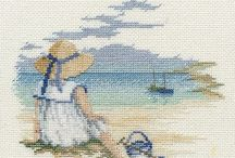 Cross stitch children