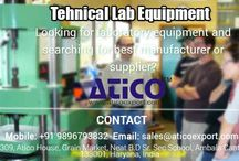 Technical Lab Equipment / Now days, if you want make good reputation of your school and colleges then your colleges and school's sciences lab should be good. You should have all type of Technical Lab Equipment in your lab. So that students can do experiment and will be interested to study.