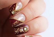 Bridal Makeup and nails