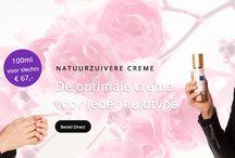 Personal Cream / Personal Cream maakt natuurlijke gezichtscrèmes volledig op maat. Ook wanneer je last hebt van een probleemhuid. Dit gebeurt digitaal. Kijk hoe wij dat doen op www.personal-cream.com