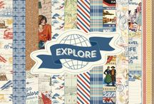 Explore Collection / by Authentique Paper