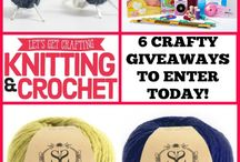 Knitting & Crochet Giveaways / Win crafty prizes!