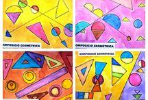 Geometrisia muotoja