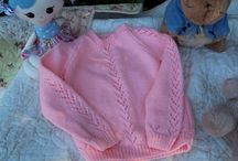 Hand knits / Hand knitted items for babies, children and your home.