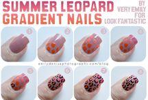 #nailart #leopardnails #nails