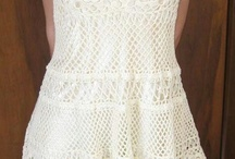 Szydełko sukienki spódnice