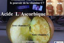 Vitamine C / Propriétés et utilisation de la vitamine C, hautes doses, cancer, injections, intraveineuses, linus pauling...