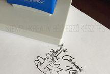 Elkészült STEMPLI bélyegzők / Finished stamps / Elkészült kreatív bélyegzők!
