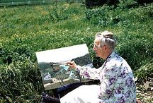 Grandma Moses and kids