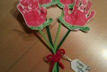 ramo de flores de manitas