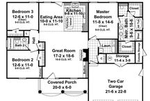 Small house plans / by Dayna Lanius