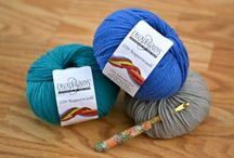 Yarn Tools & Helpful Tips / A board that features a wide range of tools and supplies that can make a crocheters day easier, as well as some helpful tips and fun facts!