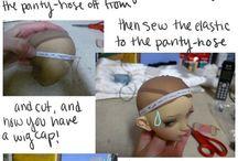 Puppe basteln