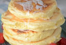 Bread and pancakes