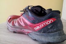 running shoes, life test / my running shoes after hundreds of miles