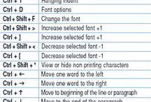 shortcut keys for MS Word