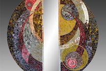 Mosaique de verre / Atelier 42 Jana Henkrichova mosaiste