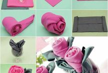 Home-Table Napkin's / Napkin Folds For Different Occasions / by Linda Finni