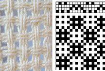 Tissage/Weaving Huck Lace