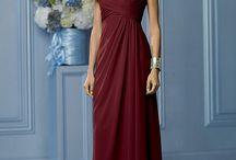 Bordeaux rode jurken