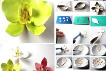 Gum Paste Flowers Tutorials