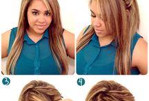 hair ideas / by Nicola Brown