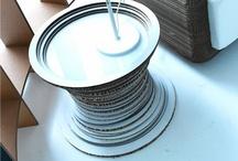 tavoli / La collezioned i tavoli in cartone ondulato di e+