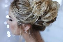 weddind hair