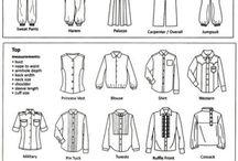 Название одежды