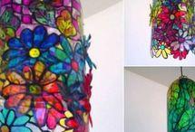 lampa z umelých flias