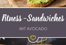Fitness sandwiches