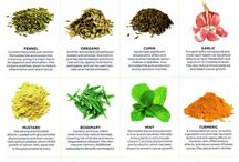 Healing foods / Foods, herbs and spices with potent healing properties.