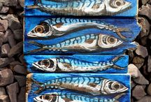 Fish Wood Art / by Tracey Petree-Bradley