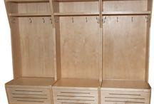 Icehockey equipment storage