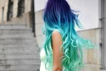 Hair style / Idee di raccolti , colori, tagli