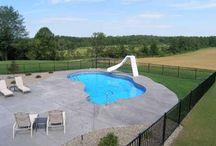 Vinyl Liner Swimming Pools / Vinyl Liner Swimming Pools wall options:  Composite Wall Pools *  Steel Wall Pools *  Polymer Wall Pools