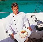 Gourmet meals onboard charter catamarans / Best Revenge 5, all inclusive Privilege 60