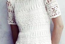 vestidos al crochet