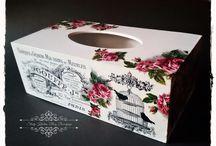для салфеток коробка