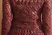 blusas de croché
