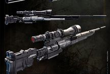 Human Snipers / Real to furturistic