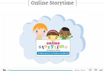 Story Explorers / Ideas for reading aloud to early elementary kids (ages 5-8.) Also, story books read online.